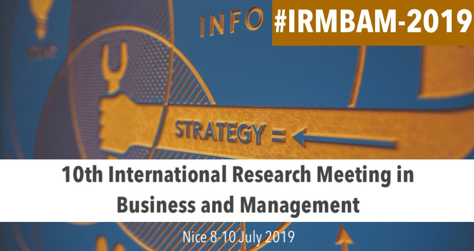 10th International Research Meeting in Business and Management